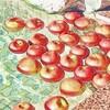 リンゴ風呂のリンゴが……