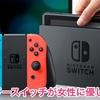 ニンテンドースイッチが女性に優しくない? (Is the Nintendo switch not friendly to women?)