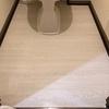 トイレの床を張り替え(DIY)