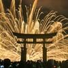 憧れの宮島水中花火大会2017に行ってきた🎆