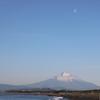 雪の少ない富士山 と 核兵器禁止条約が22日に発効