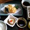 「天皷 」と書いて「てんこ」と読みたいところを「てんく」と読む和食処でランチです。 10月7日