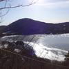 薄雪の赤城山 山頂にテン泊してプチ縦走