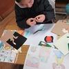 2年生:図工 紙版画