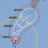 台風22号 985hPa