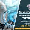Service Robotics Market, グローバルセグメント別-会社別予測