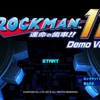 Nintendo Switch「ロックマン 11」の体験版をプレイ
