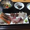 瀬戸内芸術祭の夜に直島の居酒屋快鮮八代田で刺身、煮魚に絶品亀の手