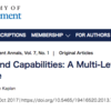 【D×B:No.9】Cognition and Capabilities: A Multi-Level Perspective(2013)