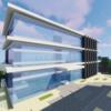 市役所を建てる 外装・外構編【Minecraft】