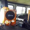 UAZのカーオーディオ ギターアンプからステレオへ☆「エレコム MS-76」