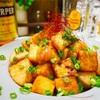 【レシピ】鶏むね肉と厚揚げのめんつゆバター炒め