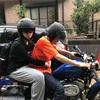 8/3娘バイクに乗る😊娘管理員代務研修をする😩