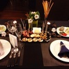 rastic × modern クリスマステーブルコーディネート