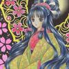 「桜姫」オリジナル色鉛筆&鉛筆イラスト:夢の聖地その2