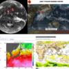 【台風18号の卵】日本の南西・南東にはまとまった雲の塊が2つ存在!その内南東の台風の卵が台風18号『ミートク』となって九州に上陸・その後本州を縦断か!?気象庁・米軍(JTWC)・ヨーロッパ中期予報センター(ECMWF)の進路予想は?