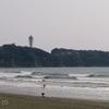 【海】3/28の江ノ島水族館前は良い波でした【波日記】