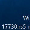 Windows10 Insider Preview Build 17730でました。