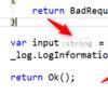 ReSharper で型やパラメーター名のヒントを表示させない (Visual Studio 2019)