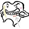 歯間が空いてフロスしやすい件。〜day196〜