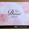 ANAダイヤモンドサービス・ステイタスカードと選択式特典が届きました