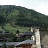 【ジョージア旅行記】3:山の斜面に塔がにょきにょき。上スヴァネティ地方のメスティアに行ってみた