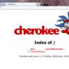 VPSで遊ぶ -その10 :軽量マイナーWebサーバー Cherokee Web Server であそぶ Part1:スクショ編