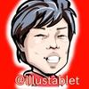 iPadproで描いた 馬場雄大選手の似顔絵と似顔絵が出来上がるまで。