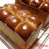 リッチな生地の食パン、胚芽パン