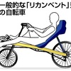 「リカンベント」型自転車で転倒か…漫画家死亡