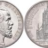 ドイツヴュルテンブルク1871年ドッペルターラー銀貨