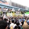 本日は、フジテレビ抗議デモ in 大阪