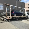 市原市からレッカー車で車検証の無い故障車を廃車の引き取りしました。