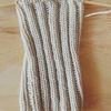 5本針でくつ下を編むときに出来てしまう縦の筋がこんな簡単な方法で解決