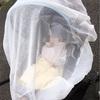 虫からベビーを守るため、ベビーカー用の防虫ネット(蚊帳)を買いました