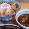 上越市・国道8号線沿い「らぁ麺 武者気(むじゃき)」柚子入りつけ麺をいただいてきました( ^∀^)!