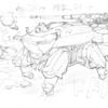 描いた−3ネコ型ロボット
