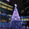 (台北で楽しむクリスマス)「統一時代百貨」のイルミネーション