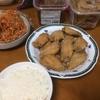 連休4日目 うどん屋にて昼食を頂く 夕食は祖母からの頂き物
