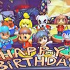 誕生日と20周年