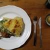 田舎風野菜パイと、食べ物が美味しいという評判