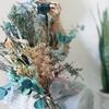 ヒーリング効果?今夏にもおすすめ!カスミソウetc、ドライフラワーの大きな花束