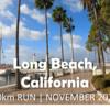 【10kmラン】Long Beach, California | Morning Run in November 2020