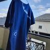 夫さんの藍染めTシャツ