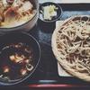 【 3.4 / 5.0 点 】渋谷 金王庵 ヒレカツ丼とやまと豚のつけ汁せいろ