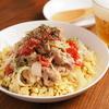 大盛りだけどご飯じゃない「炒り豆腐ガーリックトマト豚丼」低糖質で高タンパクなレシピ【筋肉料理人】