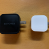 USB ACアダプタの購入が無駄になってしまいました