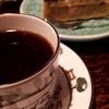 新宿《但馬屋珈琲店 本店》💜ブルーベリータルト&コーヒー蒸留酒