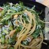 春菊のサラダパスタ の作り方(レシピ) 生の春菊をフライパンなしの常温パスタで