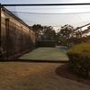 大津カントリークラブ東コースの練習場